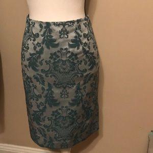Merona printed skirt